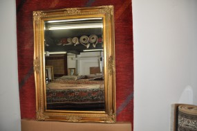 Barock-Wandspiegel Gold
